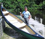 Ron Pilling of the Pocomoke River Conoe Company in Snow Hill. See article 'Conoeing is Like a Day in Paradise' in The Courier Online July 25, 2007.