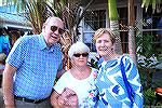 Earl, Kathy and Jeanette at Sunset Grille.