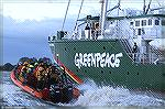 GreenPeace, well know protectors against over-fishing of whales.