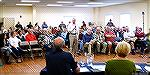 Association member makes public comments at February 25, 2018 OPA Board meeting.